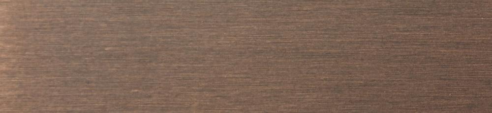 B3 - [Eisen lackiert, Effekt matt gebürstet: ] Kupfer antik