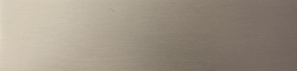 B3 - [Eisen lackiert, Effekt matt gebürstet: ] Edelstahl
