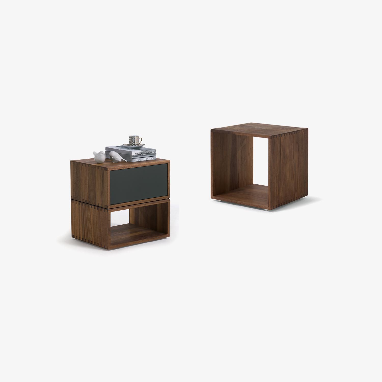 Comodini legno massello FREEDOM | Comodini di design | Comodini legno massello