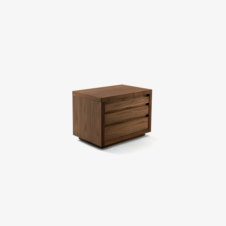 Design-Nachttische mit Frontplatte aus Massivholzfurnier KYOTO 5 | Design-Nachttische