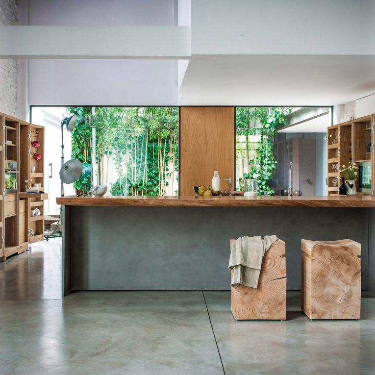 Cucina modulare multistrato LA CUCINA   Cucina di design