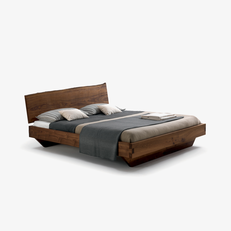Letto matrimoniale legno NATURA 6 | Letto moderno legno | Letto legno massello