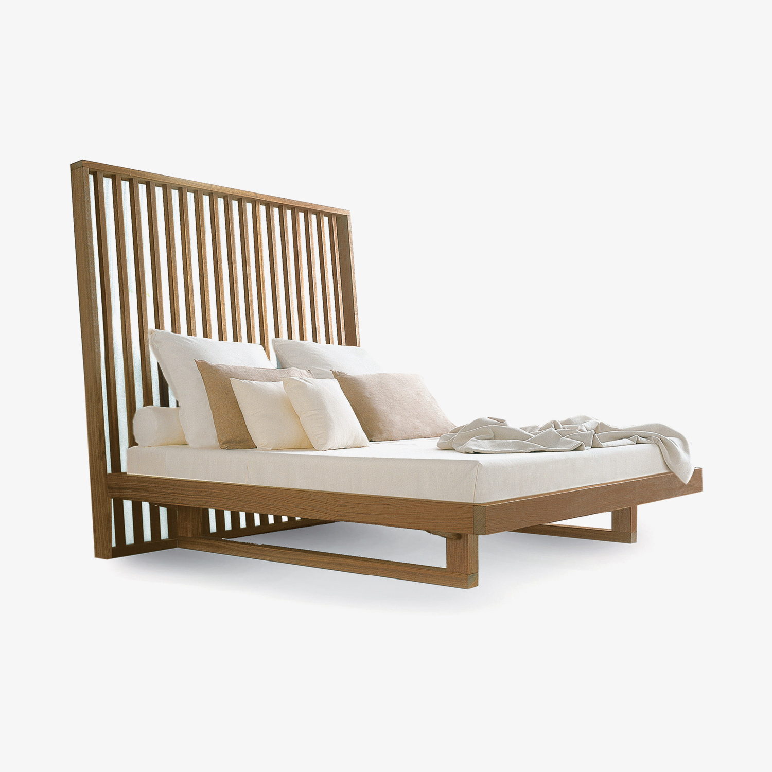 Solid wood bed NIGHT NIGHT | Design bed