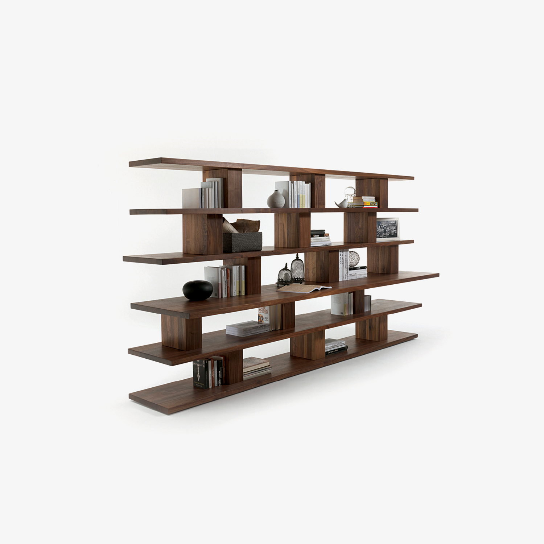 Sold wood bookcase BOOKSHELF