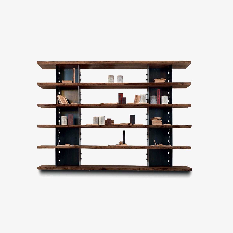 Libreria moderna BRIE | Libreria legno