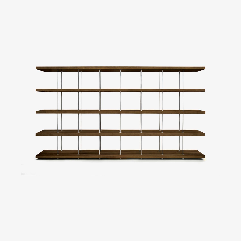Renzo Piano Bücherschrank BOOKSHELF | Design-Bücherregal | Modernes Bücherregal