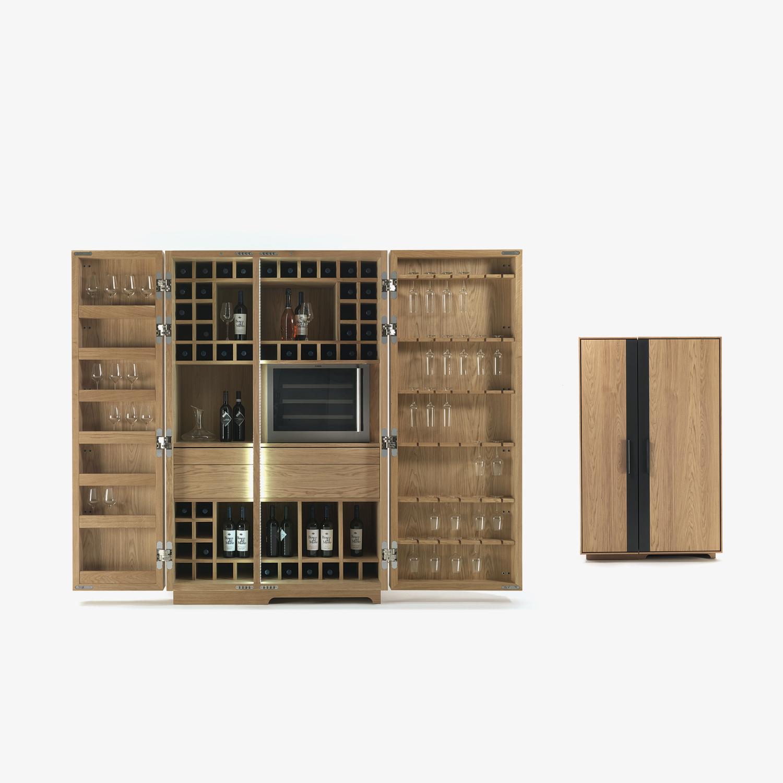 Mobile contenitore CAMBUSA WINE |  Mobile contenitore di design