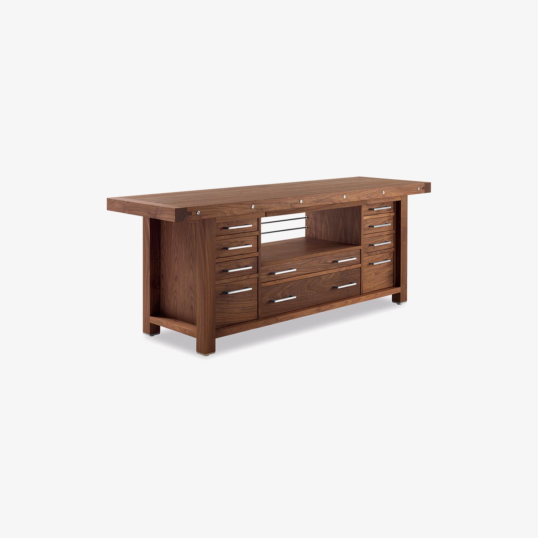 Modern solid wood sideboard COBLENZA