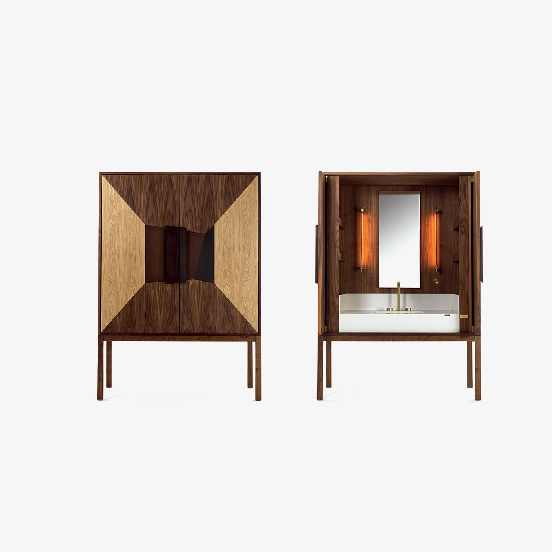 Mobile bagno DE KAURI | Lavabo di design | Mobile contenitore kauri