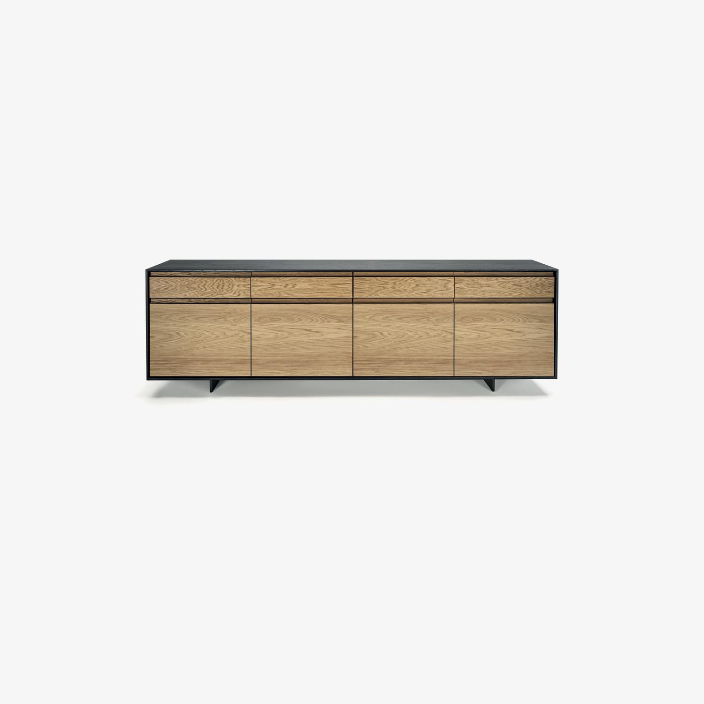 Credenza moderna KYOTO 2.0 | Mobile contenitore legno | Mobile contenitore