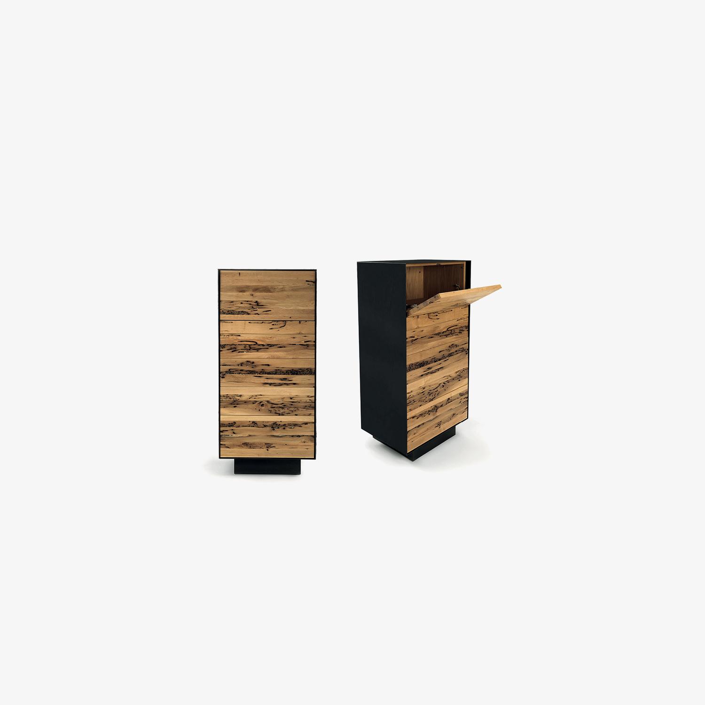 Cassettiera moderna in legno massiccio RIALTO 6 | Mobile contenitore | Mobile su misura