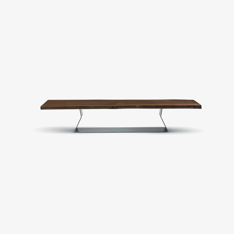 Panca in legno per interni BEDROCK PLANK | Panca di design | Panca
