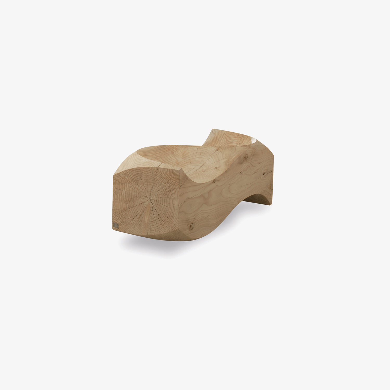 Panca legno massello LOVE SEAT | Panca legno per esterni