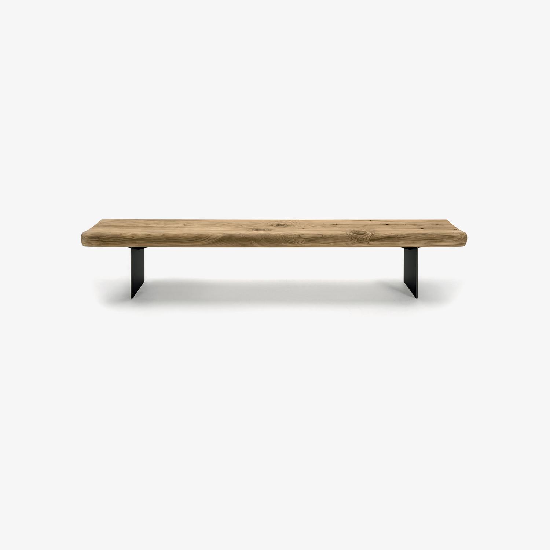 Panca legno e ferro MIRADOR | Panca