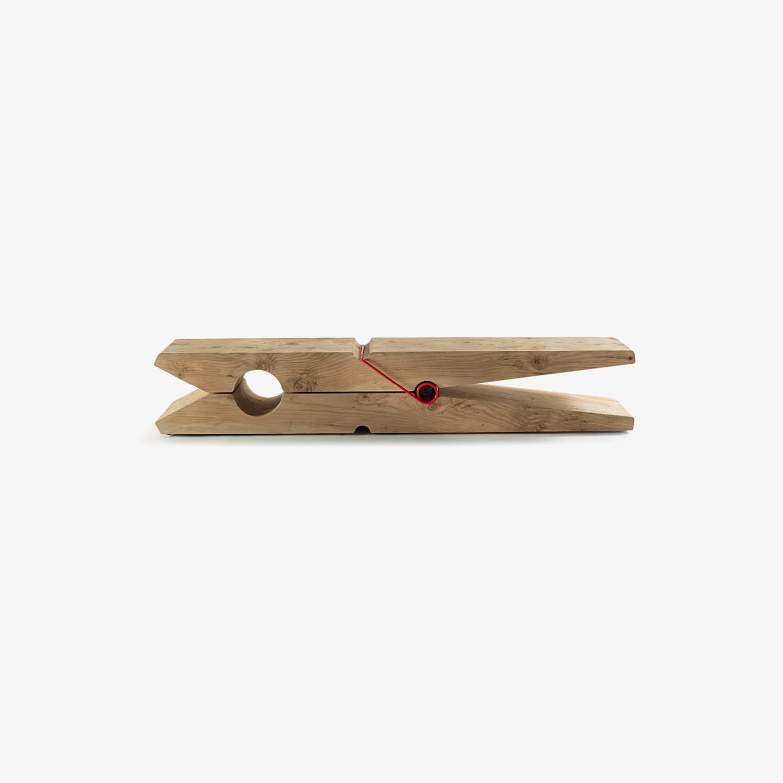 Panca in legno MOLLETTA | Panca di design | Panca